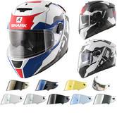 Shark Speed-R Sauer II Motorcycle Helmet & Visor