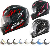 Shark S700-S Oxyd Motorcycle Helmet & Visor