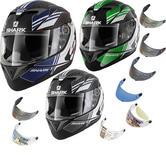 Shark S700-S Tika Motorcycle Helmet & Visor