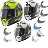 Shark S700-S Squad Motorcycle Helmet & Visor