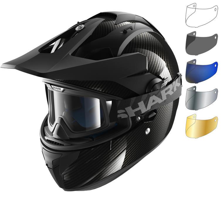 Shark Explore-R Carbon Skin Dual Sport Helmet & Visor