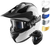 Shark Explore-R Blank Dual Sport Helmet & Visor