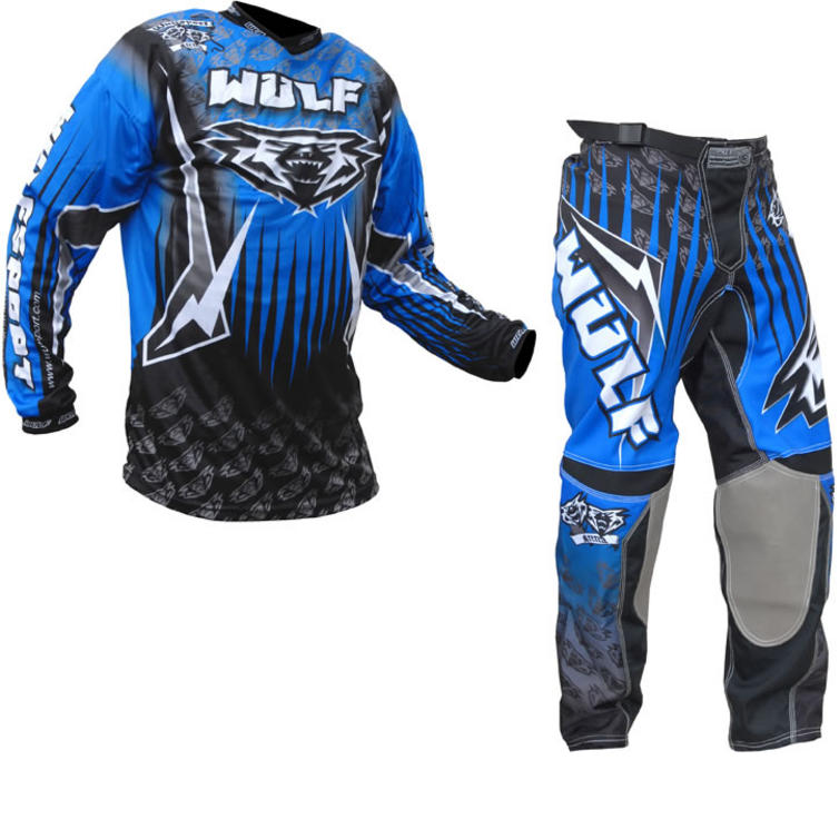 Wulf Arena Adult Blue Motocross Kit