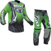 Wulf Arena Adult Green Motocross Kit