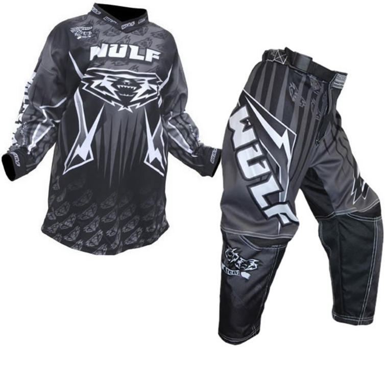 Wulf Arena Cub Black Motocross Kit