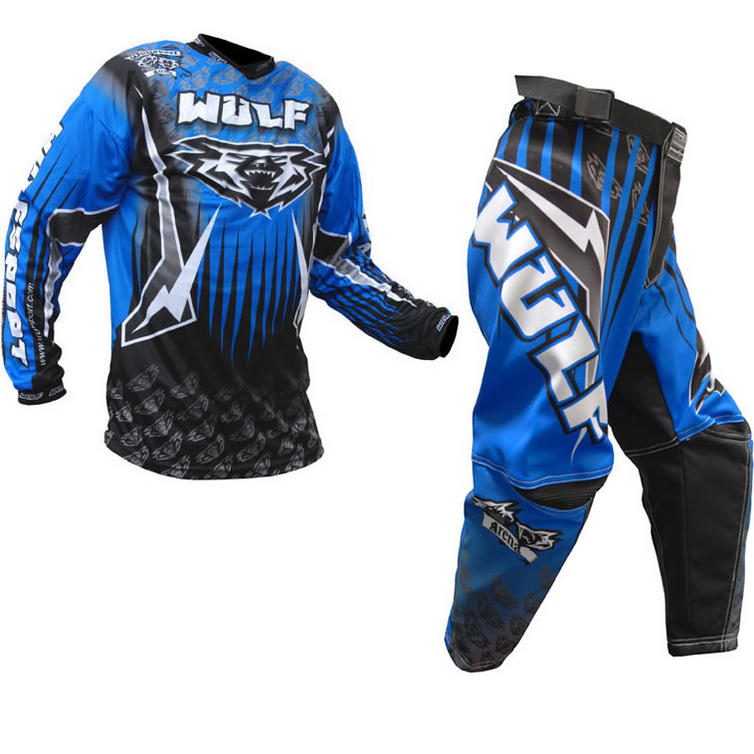 Wulf Arena Cub Blue Motocross Kit