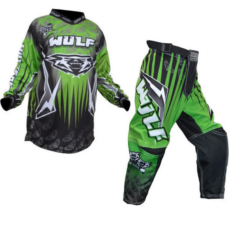 Wulf Arena Cub Green Motocross Kit