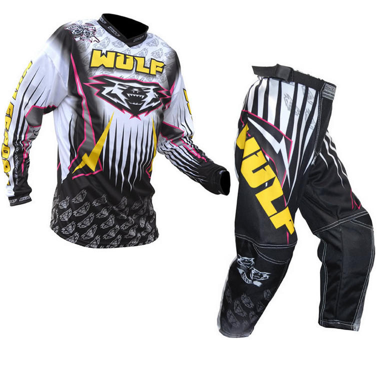 Wulf Arena Cub Yellow Motocross Kit