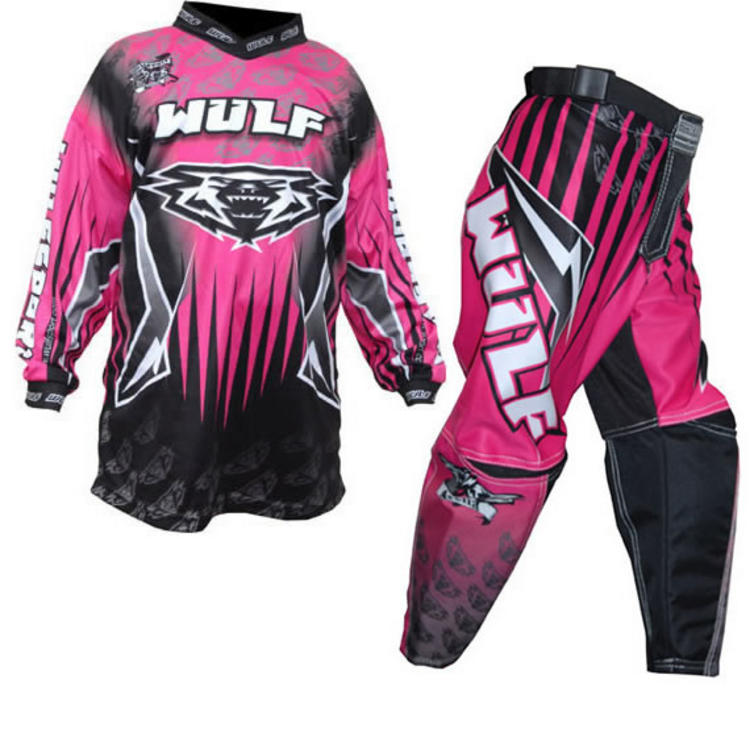 Wulf Arena Cub Pink Motocross Kit