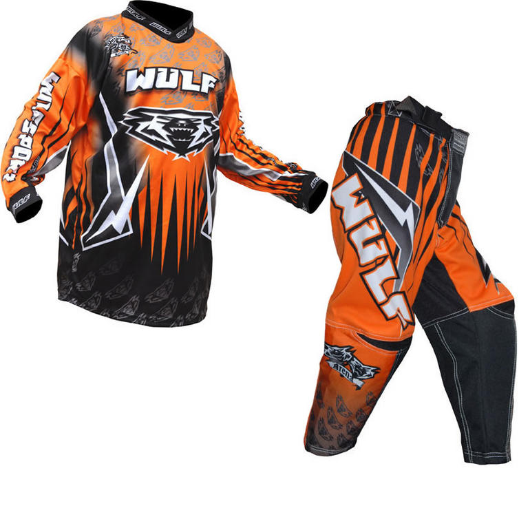 Wulf Arena Cub Orange Motocross Kit