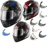Shark S600 Play Motorcycle Helmet & Visor