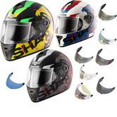 Shark S600 Volt Motorcycle Helmet & Visor