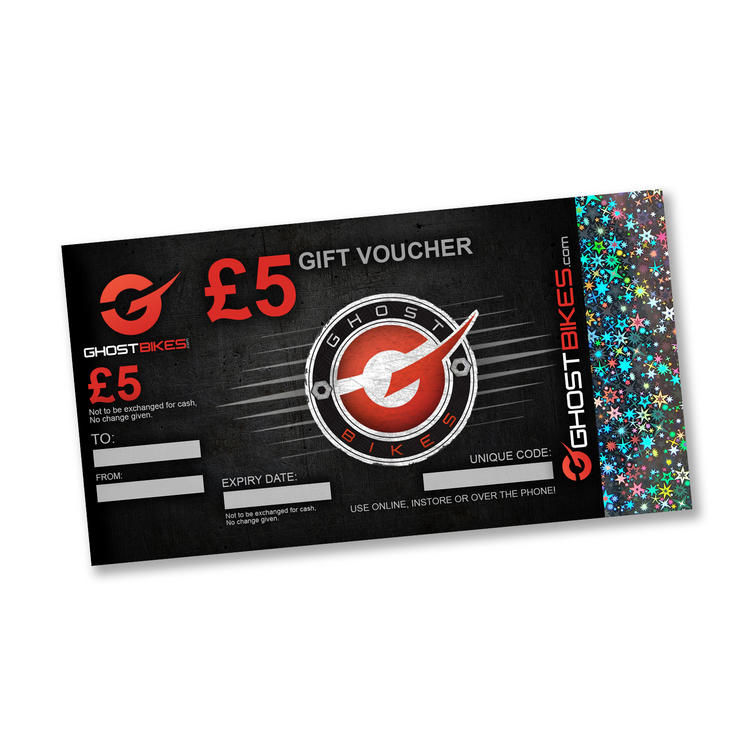 GHOSTBIKES GIFT VOUCHER £5.00