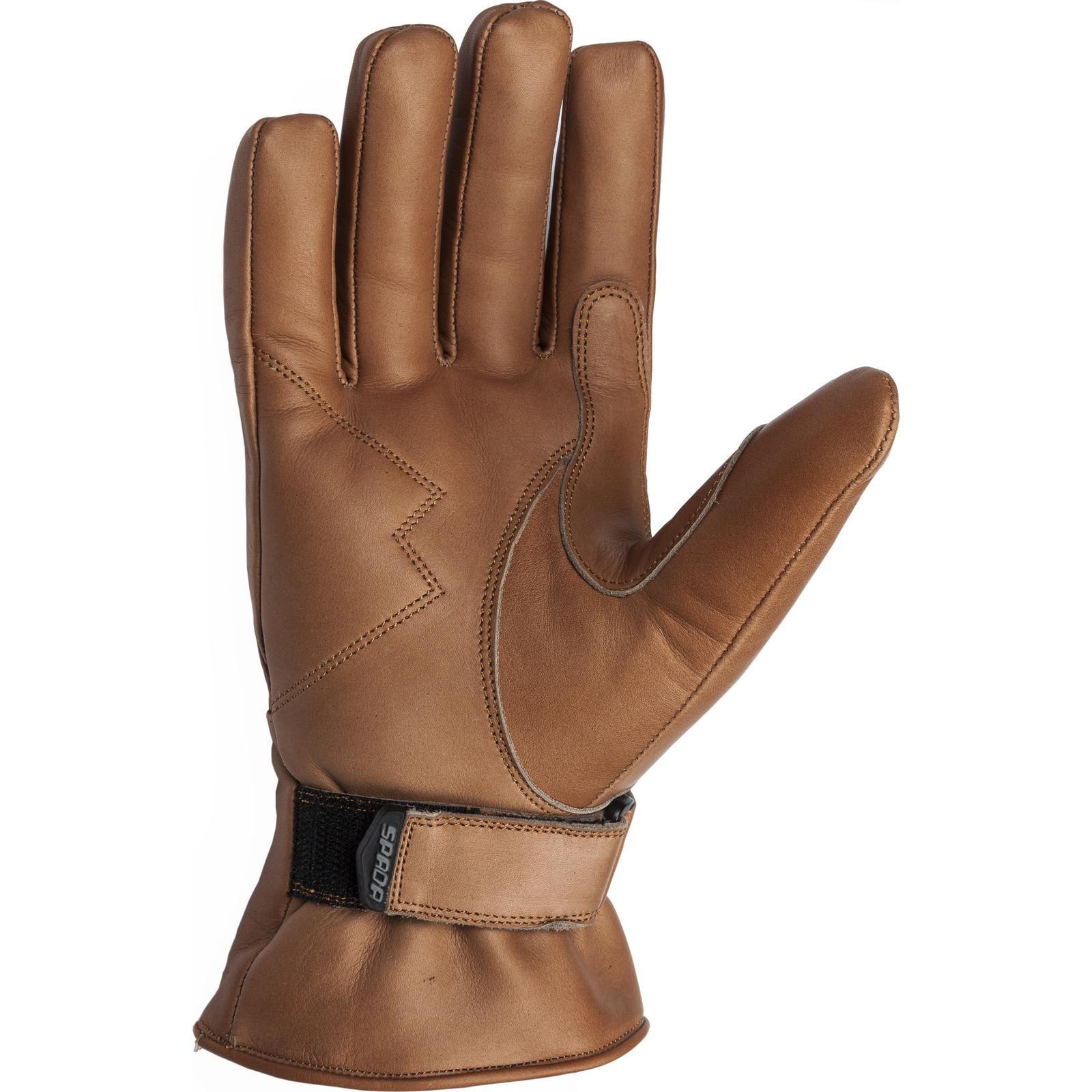 Motorcycle gloves cruiser - Spada Freeride Ladies Leather Motorcycle Gloves Waterproof Womens