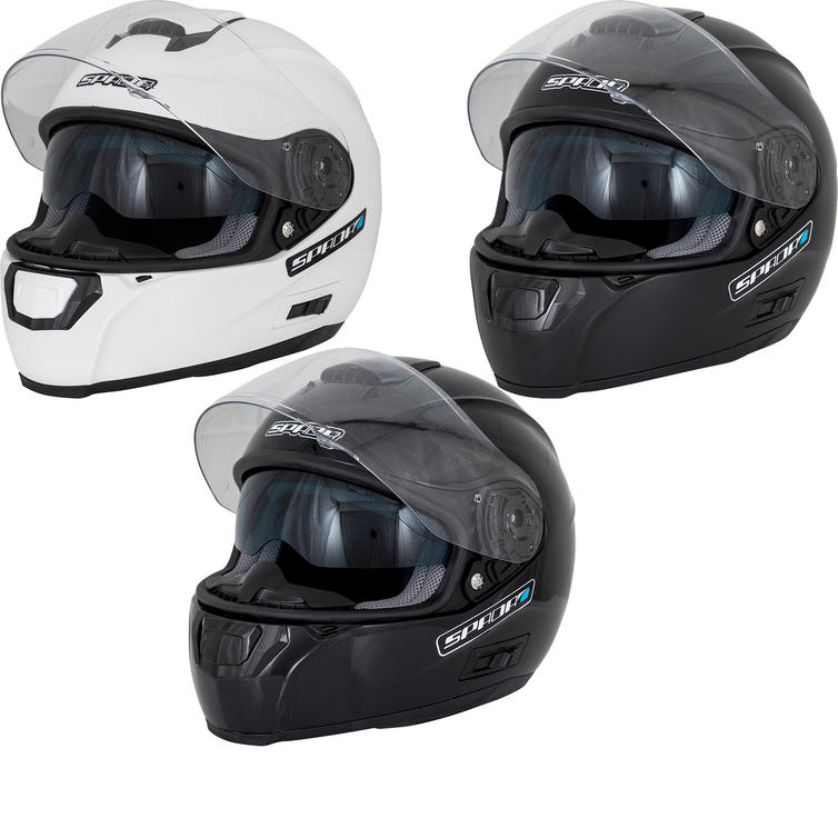 Spada SP16 Plain Motorcycle Helmet