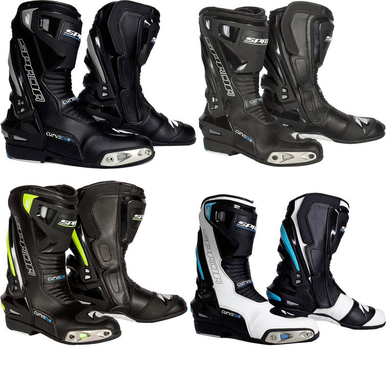 Spada Curve Evo Motorcycle Boots