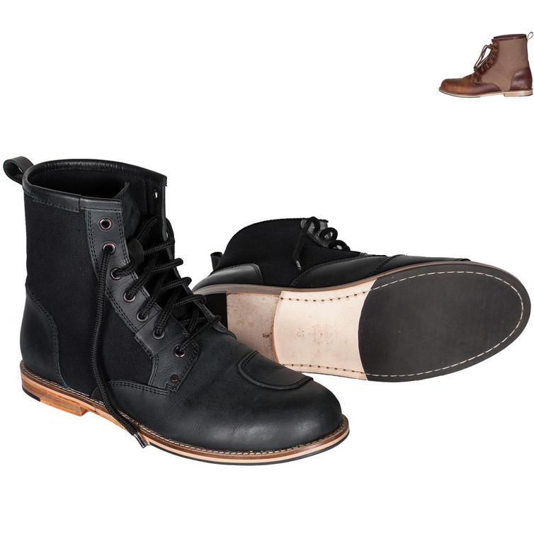 Spada Pilgrim Leather Motorcycle Boots