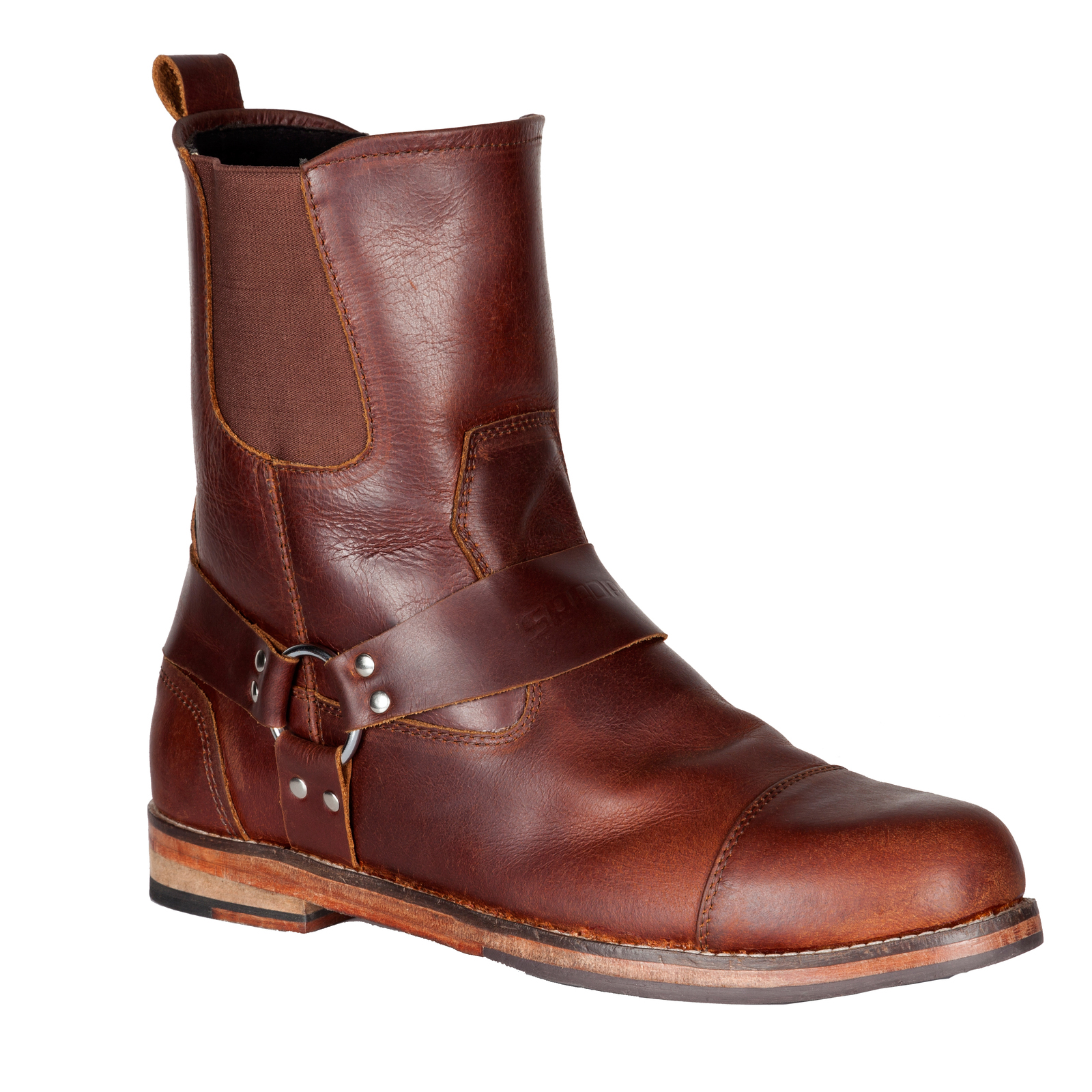 spada kensington motorcycle boots brown leather motorbike