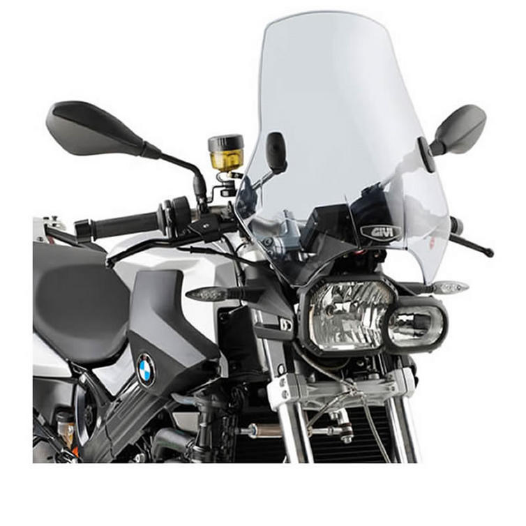 Givi Universal 2 Point Motorcycle Screen Smoked (A660)