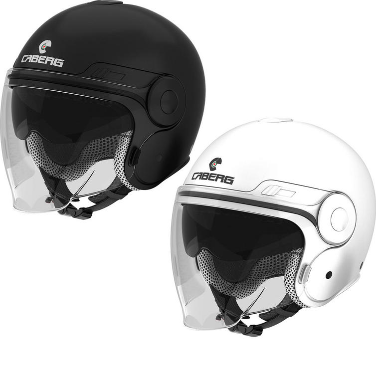 Caberg Uptown Plain Open Face Motorcycle Helmet
