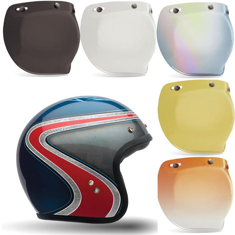 Bell Custom 500 Airtrix Heritage SE Motorcycle Helmet Bubble Visor Kit