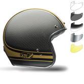 Bell Custom 500 Carbon RSD Bomb Motorcycle Helmet Bubble Visor Kit