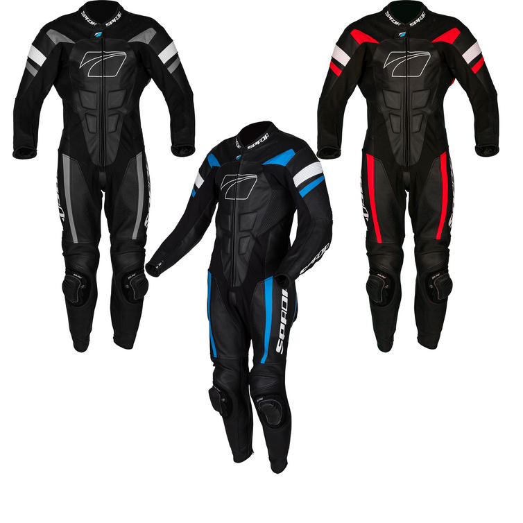 Spada Curve Evo 1-Piece Leather Motorcycle Suit