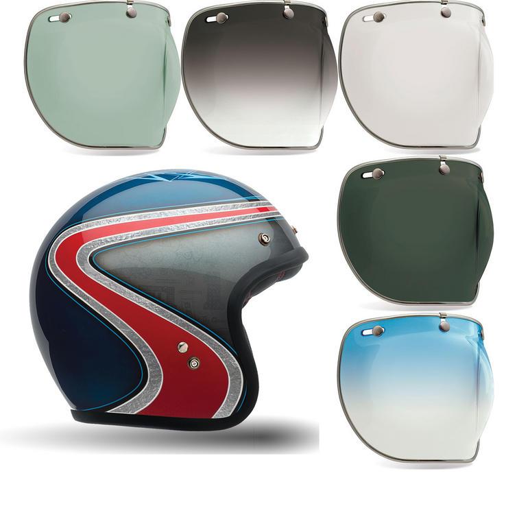 Bell Custom 500 Airtrix Heritage SE Motorcycle Helmet Bubble Deluxe Visor Kit