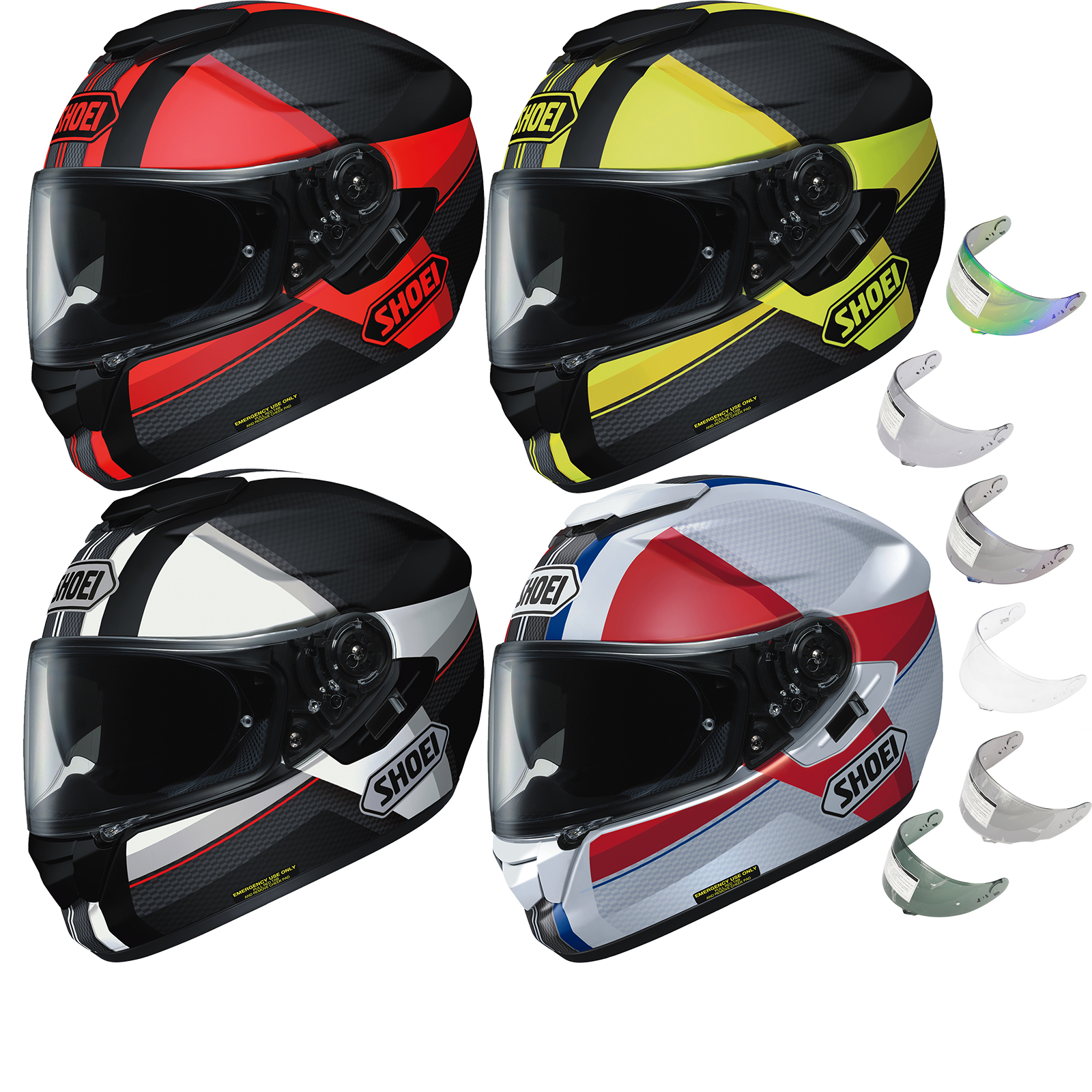 shoei gt air exposure motorcycle helmet visor gt air helmets. Black Bedroom Furniture Sets. Home Design Ideas