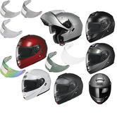 Shoei Neotec Flip Front Motorcycle Helmet & Visor