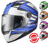 Agrius Rage Charger Motorcycle Helmet (Pinlock Ready)