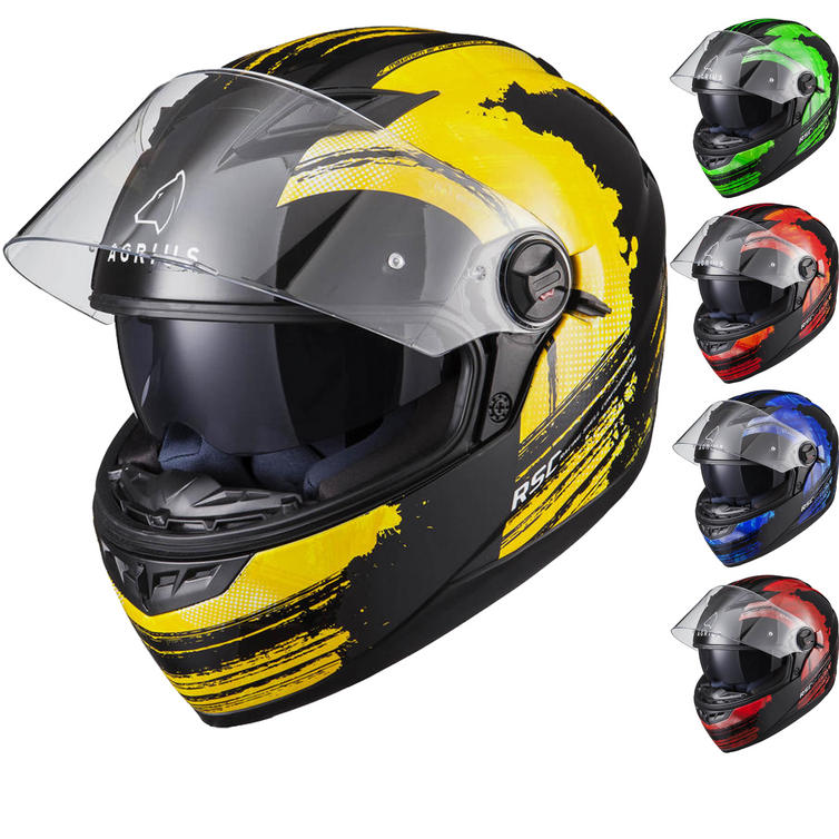 Agrius Rage SV Claw Motorcycle Helmet (Pinlock Ready)