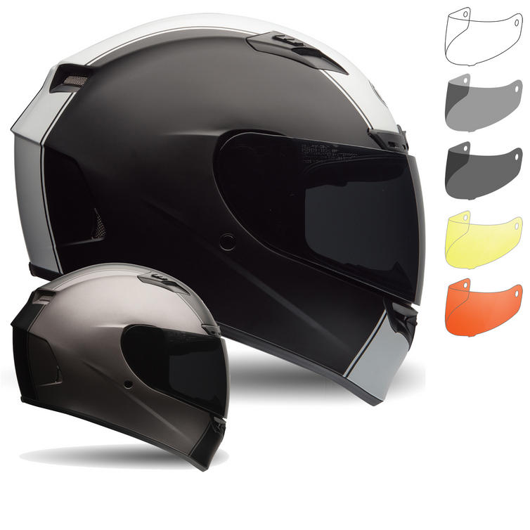 Bell Qualifier DLX Motorcycle Helmet & Race visor