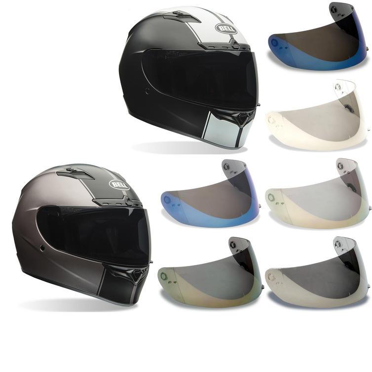 Bell Qualifier DLX Motorcycle Helmet & Iridium Visor