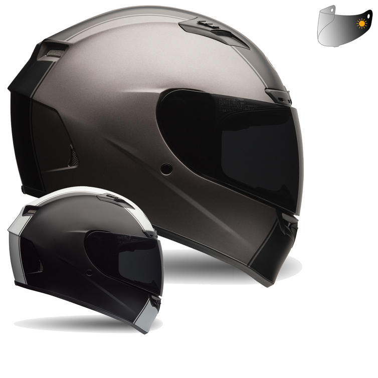 Bell Qualifier DLX Motorcycle Helmet & Photochromic Visor