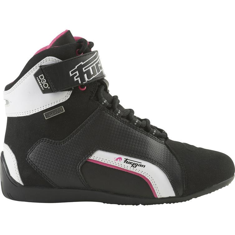 Furygan Jet D3O Sympatex Ladies Leather Motorcycle Boots