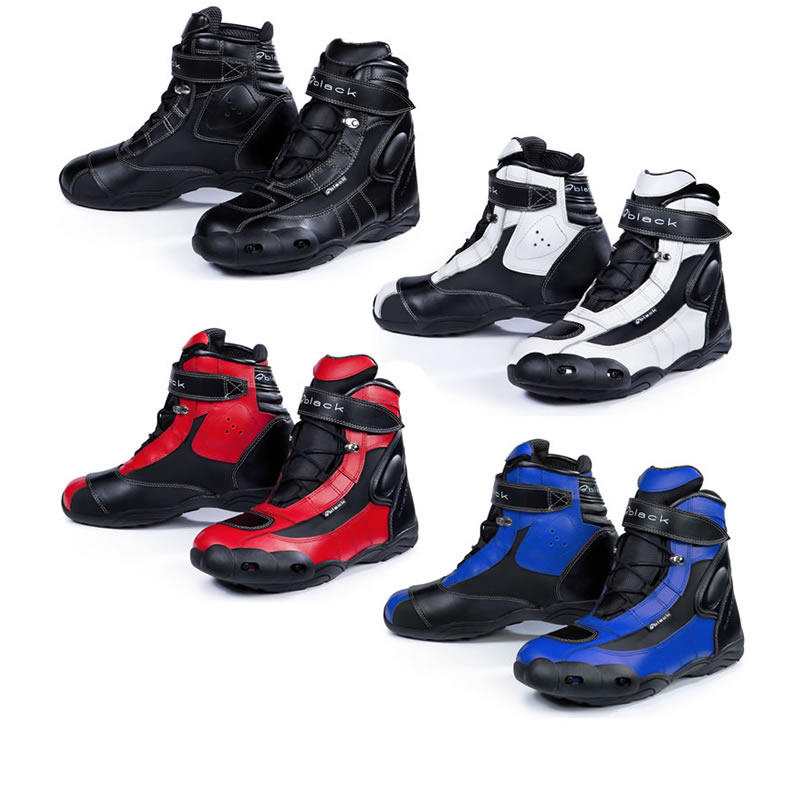 Black FC-Tech Motorcycle Boots