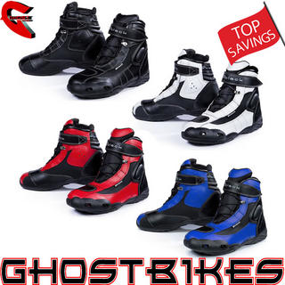 View Item Black FC-Tech Motorcycle Boots