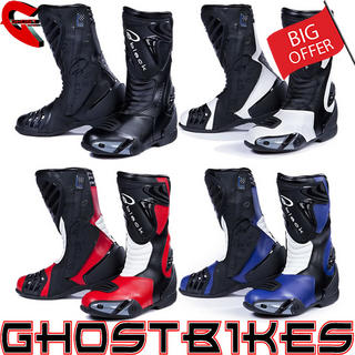 View Item Black Zero Waterproof Motorcycle Boots