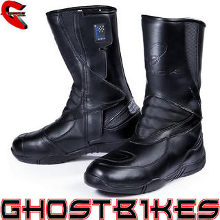 Black Delta Motorcycle Boots