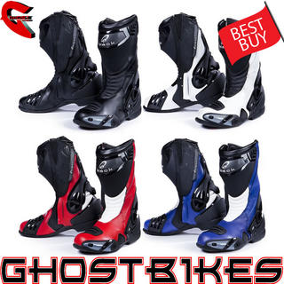 View Item Black Venom Motorcycle Boots