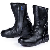Black Hydra-Tech Motorcycle Boots