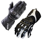 Buffalo Ohio Leather Motorcycle Gloves
