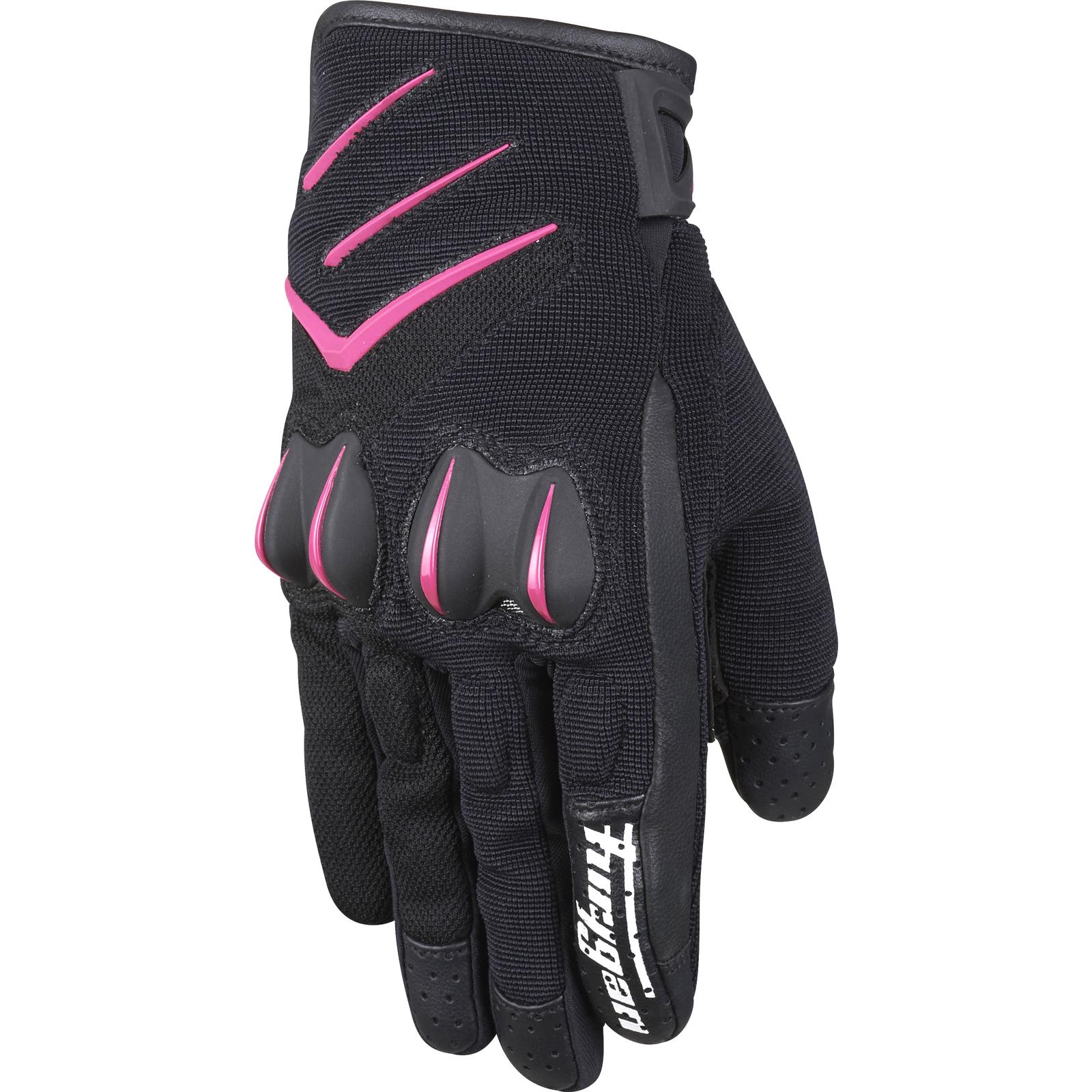 Motorcycle gloves pink - Furygan Delta Ladies Motorcycle Gloves Womens Summer Lightweight