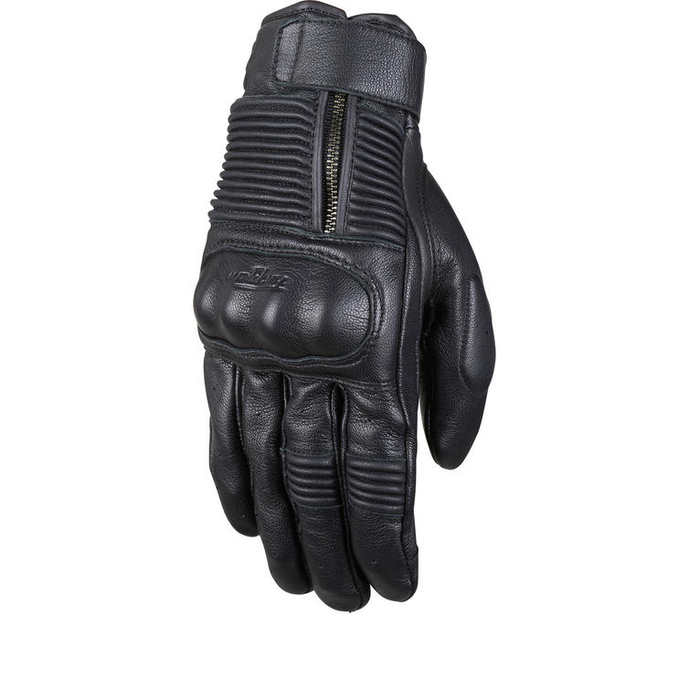 Image of Furygan James D3O Leather Motorcycle Gloves