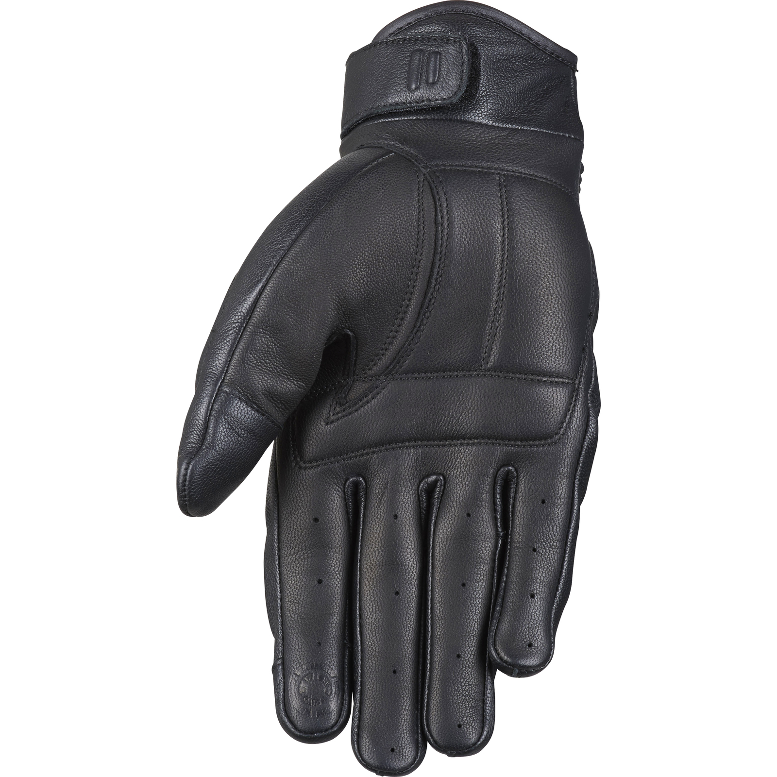 Motorcycle gloves d30 - Furygan James D3o Leather Motorcycle Gloves Retro Short