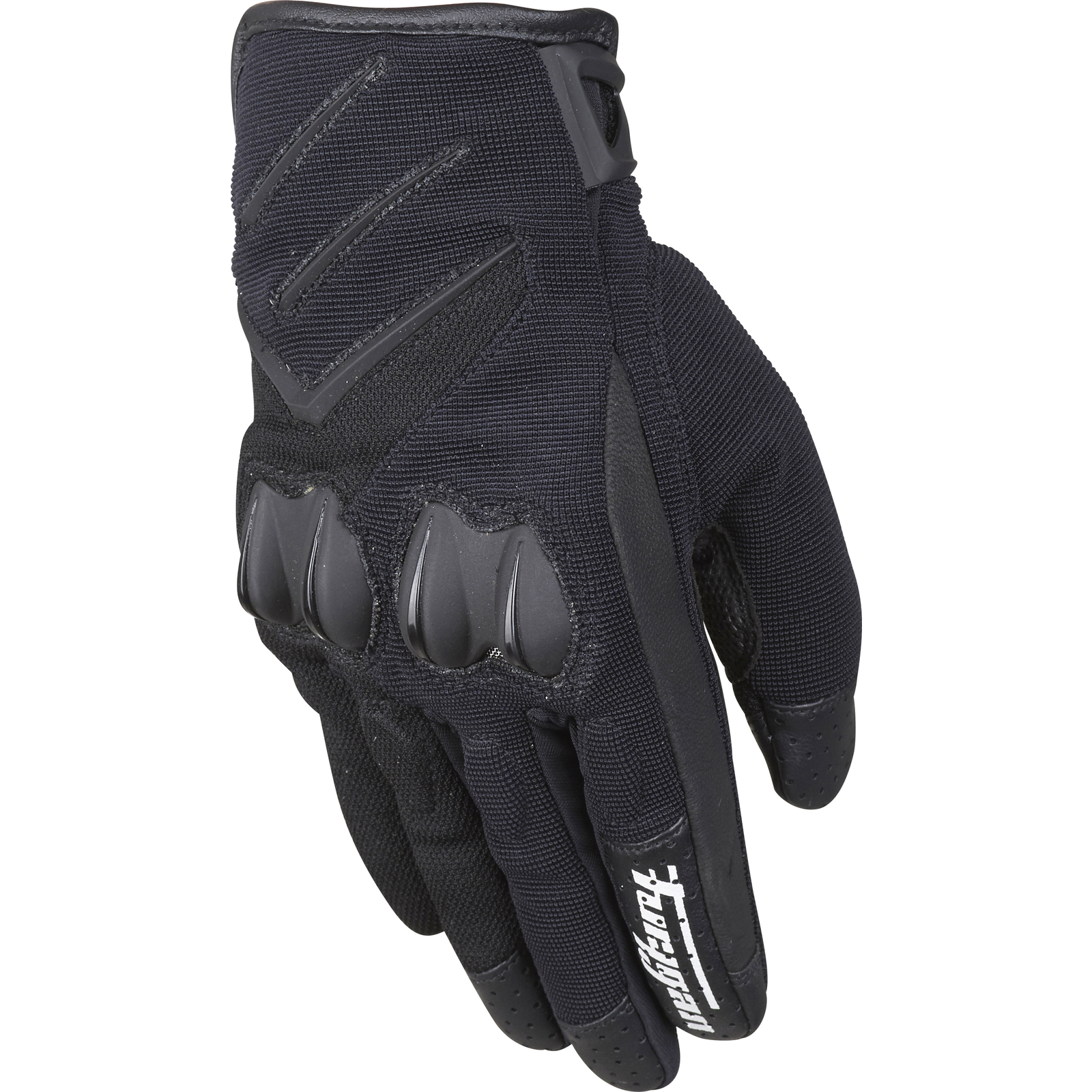 Motorcycle gloves for summer - Furygan Delta Motorcycle Gloves Textile Mens Summer Vented