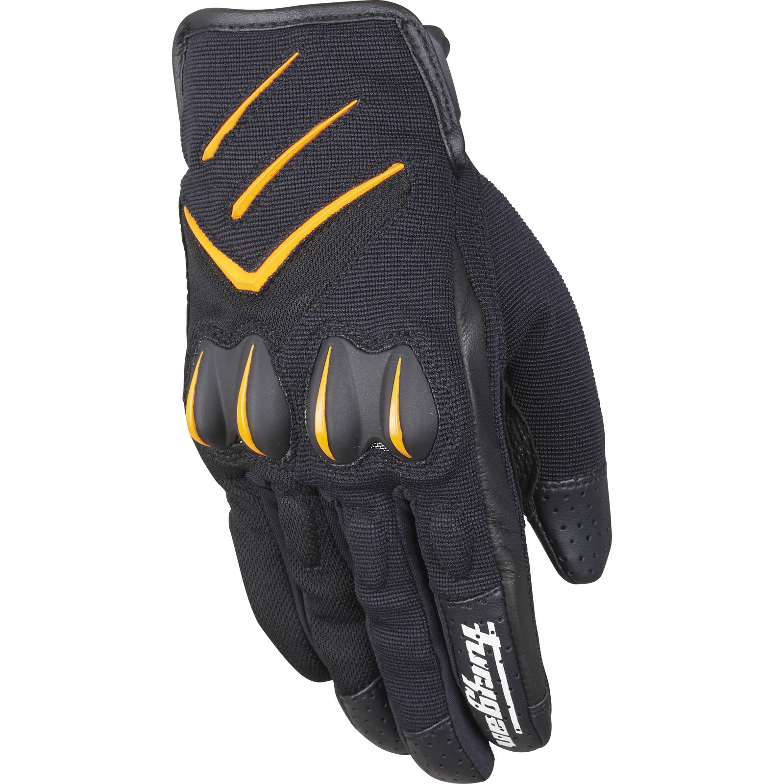 Mens gloves summer - Furygan Delta Motorcycle Gloves Textile Mens Summer Vented