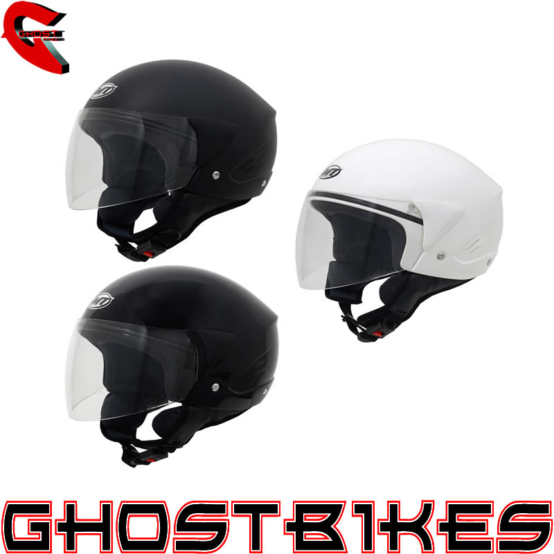 MT VENTUS OPEN FACE THERMOPLASTIC MOTORCYCLE SCOOTER CRASH HELMET WITH VISOR Enlarged Preview