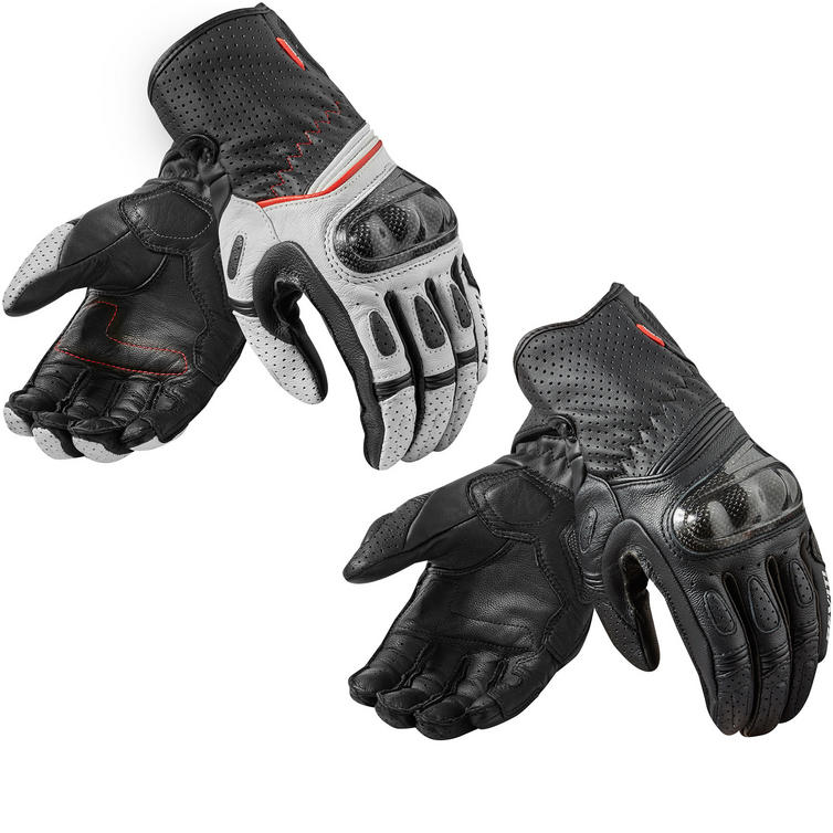 Image of Rev It Chevron 2 Ladies Leather Motorcycle Gloves